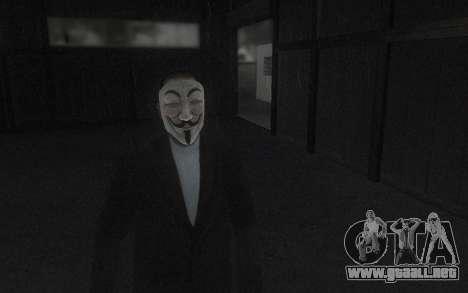 DayZ Mask para GTA San Andreas segunda pantalla