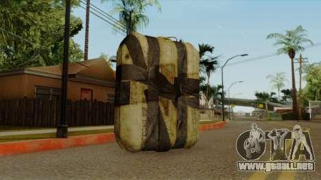 Original HD Satchel para GTA San Andreas segunda pantalla