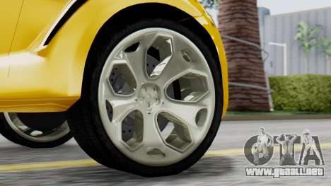 Ford Iosis para GTA San Andreas vista posterior izquierda