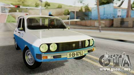 Dacia 1310 Militia para GTA San Andreas
