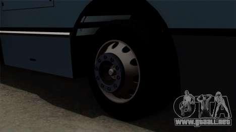 Ikarus 415 para GTA San Andreas vista posterior izquierda