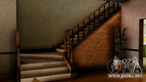 El nuevo interior de la casa de CJ para GTA San Andreas sexta pantalla