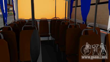 Mercedes-Benz LO-608D Paraguay School Bus para GTA San Andreas vista hacia atrás