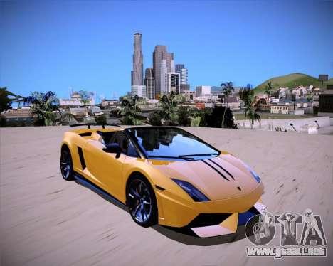ENB Benyamin for Low PC para GTA San Andreas