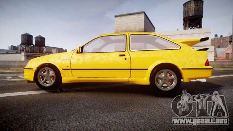 Ford Sierra RS500 Cosworth v2.0 para GTA 4 left