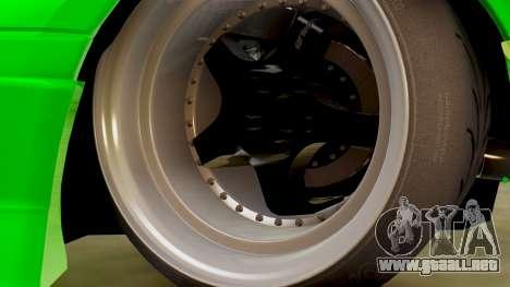 Mazda MX-5 BnSports para visión interna GTA San Andreas