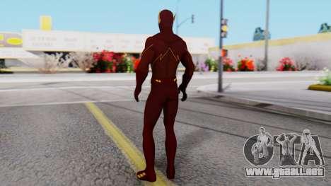 The Flash White Logo para GTA San Andreas tercera pantalla