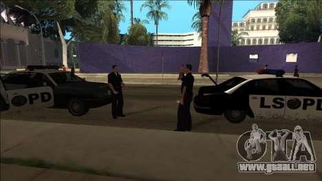 DLC Big Cop and All Previous DLC para GTA San Andreas quinta pantalla