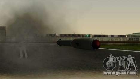 Homing Missile para GTA San Andreas sucesivamente de pantalla