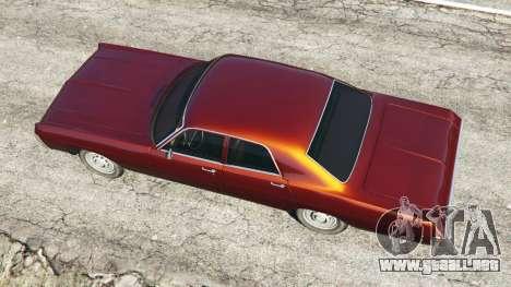 GTA 5 Dodge Polara 1971 vista trasera