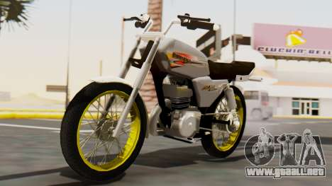Suzuki AX 100 Stunt para GTA San Andreas