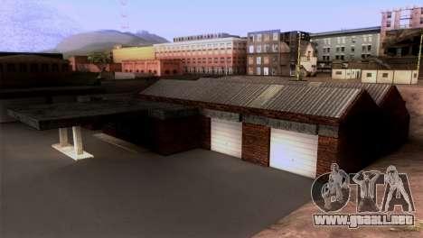New LSPD garaje para GTA San Andreas