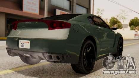 GTA 5 Annis Elegy RH8 SA Style para GTA San Andreas left