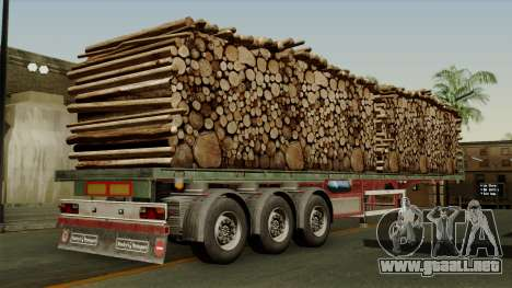 Trailer Cargos ETS2 New v2 para GTA San Andreas left