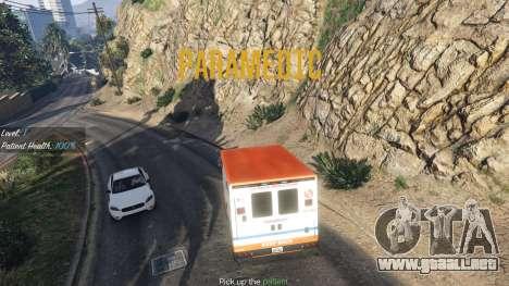 GTA 5 La misión de la ambulancia v. 1.3