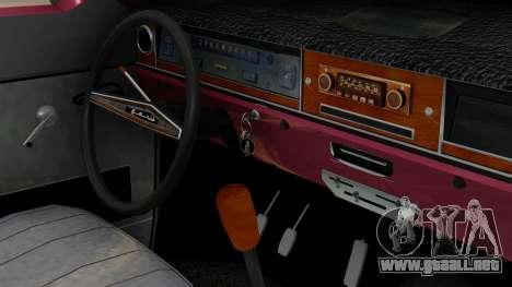 GAZ 2402 para GTA San Andreas vista posterior izquierda