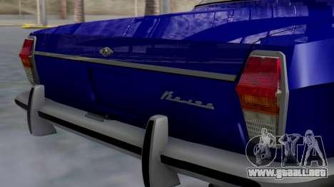 GAZ 24 Volga para GTA San Andreas vista hacia atrás