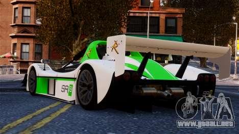 Radical SR8 RX 2011 para GTA 4 Vista posterior izquierda