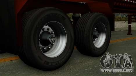 Trailer Log v1 para GTA San Andreas vista posterior izquierda