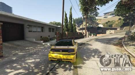 GTA 5 Semi-Realistic Vehicle Physics V 1.6 tercera captura de pantalla