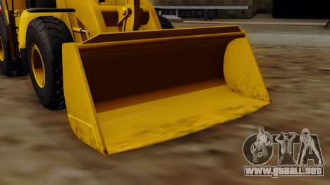 GTA 5 HVY Dozer para la visión correcta GTA San Andreas