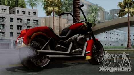 Freeway Avenger para GTA San Andreas left