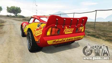 Lightning McQueen [Beta] para GTA 5