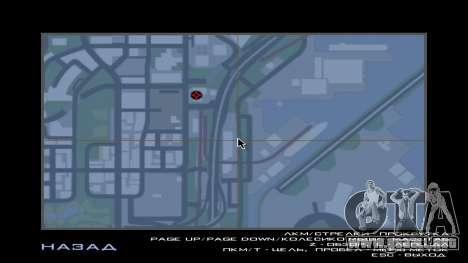 El Mitsubishi Motors Concesionario para GTA San Andreas sucesivamente de pantalla