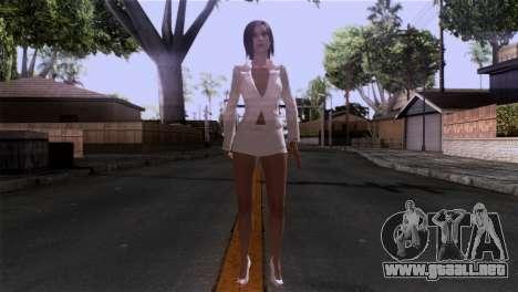Detallada de la piel de las niñas para GTA San Andreas segunda pantalla