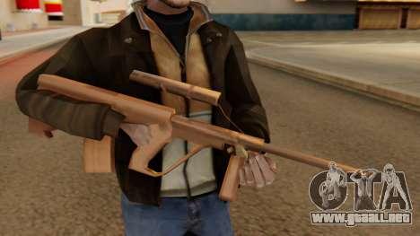 Steyr AUG from GTA VC Beta para GTA San Andreas tercera pantalla