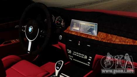 BMW 7 2015 para la visión correcta GTA San Andreas