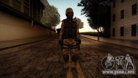 U.S.A. Ranger para GTA San Andreas segunda pantalla