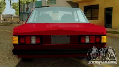 Admiral from Vice City Stories IVF para la vista superior GTA San Andreas
