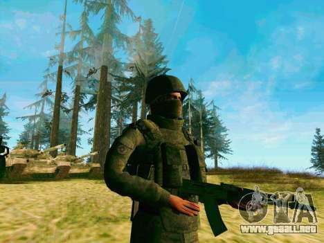 Pak combatientes de las tropas especiales del GR para GTA San Andreas tercera pantalla