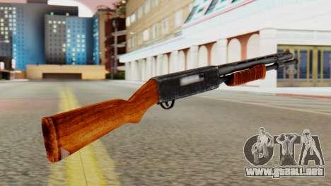 Xshotgun escopeta de Bomba para GTA San Andreas segunda pantalla