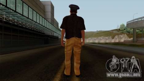 Pakistani Police para GTA San Andreas tercera pantalla
