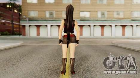 Momiji from DoA 5 para GTA San Andreas tercera pantalla