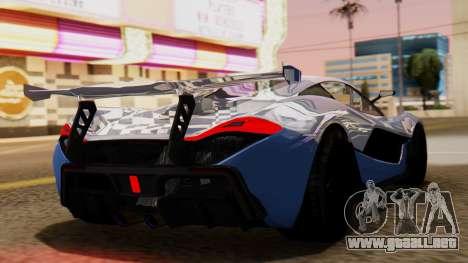 Progen T20 GTR para GTA San Andreas left