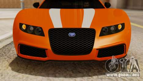 GTA 5 Adder Secondary Color para la visión correcta GTA San Andreas