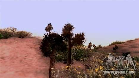 Textura Real de la vegetación para GTA San Andreas segunda pantalla