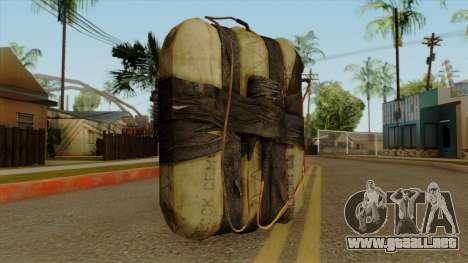 Original HD Satchel para GTA San Andreas