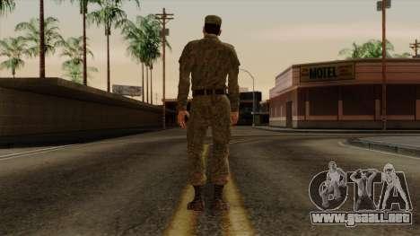 El ordinario moderno ejército ruso para GTA San Andreas tercera pantalla