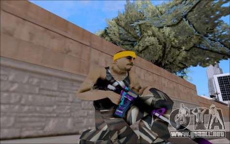 M4A1 Color para GTA San Andreas