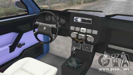 GTA 5 Tofas Dogan vista lateral derecha