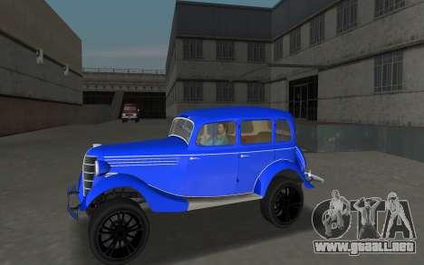 GAZ 11-73 Azul Real para GTA Vice City