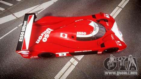 Toyota GT-One TS020 Le Mans 1999 para GTA 4 visión correcta
