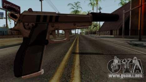 Original HD Silenced Pistol para GTA San Andreas segunda pantalla