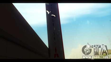 El Mitsubishi Motors Concesionario para GTA San Andreas segunda pantalla