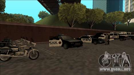 DLC Big Cop and All Previous DLC para GTA San Andreas octavo de pantalla