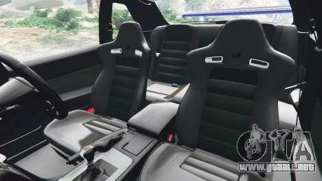 GTA 5 Nissan Skyline R34 GT-R v0.1 vista lateral derecha